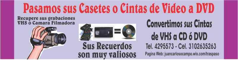 Betamáx, VHS, Cintas de Video.