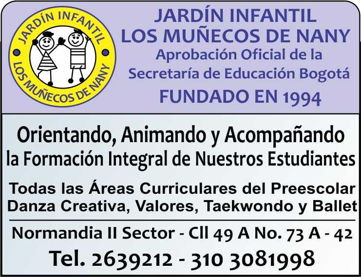 JARDIN INFANTIL LOS MUÑECOS DE NANY