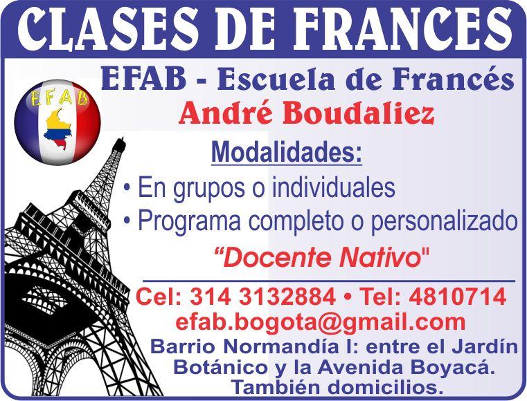 Cursos Frances, Bogotá,