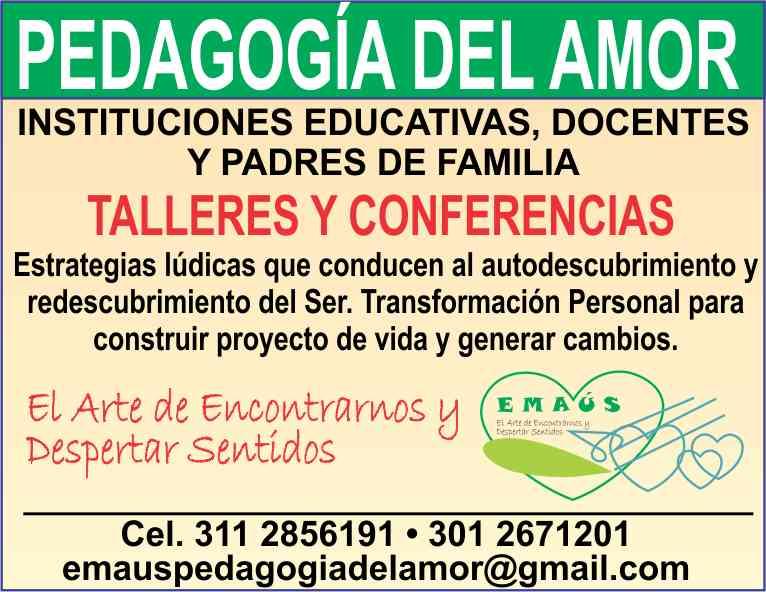 EMAUS - TALLERES Y CONFERENCIAS. - 2017jpg